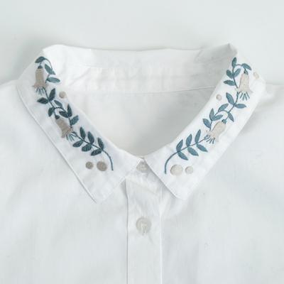 釣鐘草のシャツ